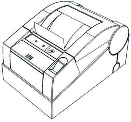 Как вставить ленту в кассовый аппарат
